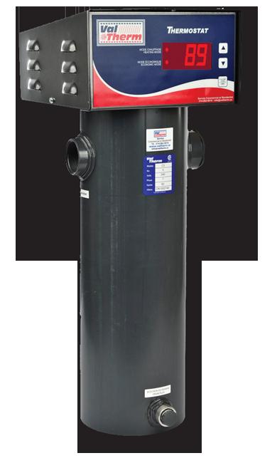Mod le c digital chauffe eau piscine pool water heater for Chauffe eau de piscine