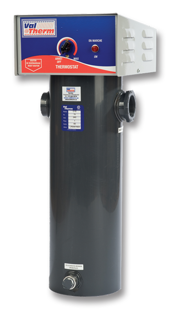 Mod le c m canique chauffe eau piscine pool water heater for Club piscine chauffe eau